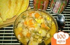 Фото рецепта: «Цукини с овощами»