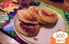 Фото рецепта: «Griddle cakes - оладьи из пресного теста»