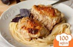 Фото рецепта: «Куриные ножки в сливочном соусе»