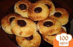 Фото рецепта: «Печеные сырники с шоколадом»