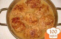 Фото рецепта: «Котлеты говяжьи в соусе»