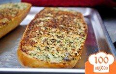 Фото рецепта: «Хлеб с чесноком и пармезаном.»