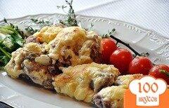 Фото рецепта: «Мясо по-французски с картофелем»