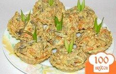 Фото рецепта: «Салат с печенью и морковью»