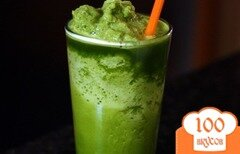 Фото рецепта: «Охлаждающий зеленый лимонад»