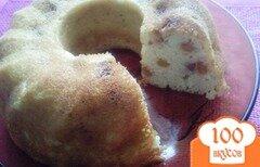 Фото рецепта: «Манник с изюмом»