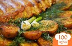 Фото рецепта: «Ребрышки с картошкой»