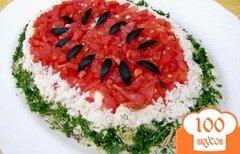 Фото рецепта: «Салат «Арбуз»»