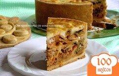 Фото рецепта: «Тимбале (Timbale) - праздничный итальянский пирог»