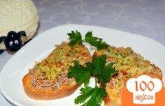 Фото рецепта: «Мини пицца на батоне (багете)»