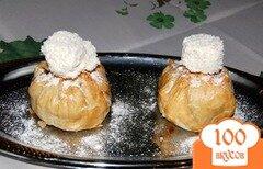 """Фото рецепта: «Десерт """"Яблоко искушения""""»"""