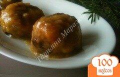 Фото рецепта: «Говяжьи тефтели в ананасовой глазури»