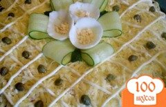 Фото рецепта: «Салат из индейки с каперсами»