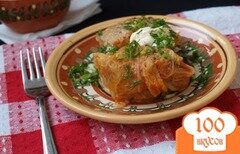 Фото рецепта: «Голубцы из савойской капусты»