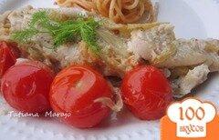 Фото рецепта: «Филе скумбрии с фенхелем и томатами.»