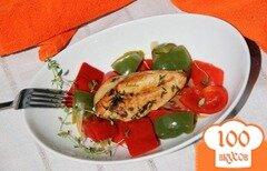 Фото рецепта: «Куриное филе на паприкаше»
