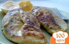 Фото рецепта: «Филе куриное, запеченное в молоке, от Джейми Оливера»