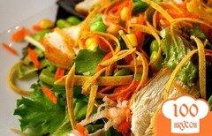 Фото рецепта: «Салат с куриным филе»