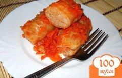 Фото рецепта: «Голубцы под томатным соусом»