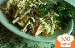 Фото рецепта: «Салат с сельдереем и яблоком»
