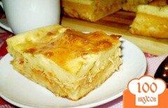 Фото рецепта: «Заливной пирог с капустой»