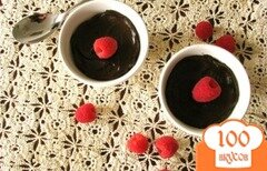 Фото рецепта: «Шоколадный пудинг с авокадо»