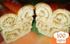 Фото рецепта: «Сладкий хлеб с орехами к чаю»