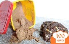 Фото рецепта: «Тянучие шоколадные печенья»