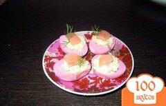 Фото рецепта: «Яйца фаршированные семгой»