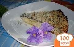 Фото рецепта: «Запеканка творожная с маковой крошкой, изюмом и белым шоколадом»