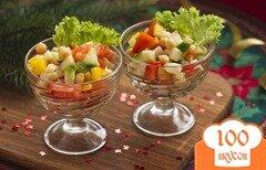 Фото рецепта: «Салат с нутом и овощами»