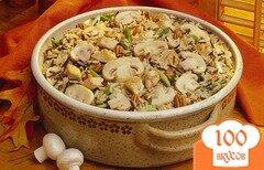 Фото рецепта: «Постный плов с грибами»