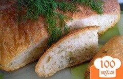 Фото рецепта: «Хлеб с укропом и оливковым маслом»