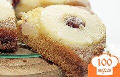 Фото рецепта: «Ананасовый пирог-перевертыш»