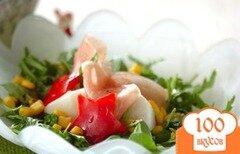 Фото рецепта: «Салат из репы на пару с ветчиной»