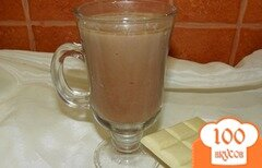 Фото рецепта: «Какао с молоком и белым шоколадом»