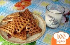 Фото рецепта: «Хрустящие вафли»