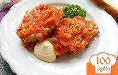Фото рецепта: «Котлеты капустные, тушеные в томате»