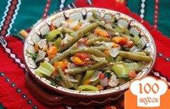 Фото рецепта: «Зеленое лобио»