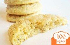 Фото рецепта: «Лимонное печенье с маком»