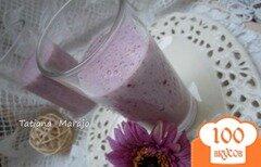 Фото рецепта: «Йогуртовый напиток с ягодами и овсом»