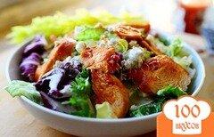 Фото рецепта: «Салат с курицей и сыром»