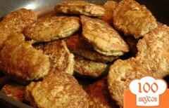 Фото рецепта: «Закусочные печеночные оладьи»