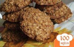 Фото рецепта: «Овсяно-ореховое печенье»