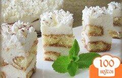 Фото рецепта: «Торт из савоярди»
