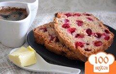 Фото рецепта: «Десертный клюквенный хлеб»