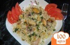 Фото рецепта: «Плов с морепродуктами»