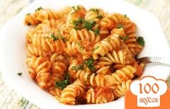 Фото рецепта: «Паста в соусе из красного перца»