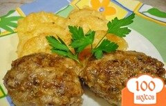 Фото рецепта: «Котлеты с картошкой в мультиварке»