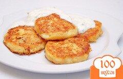 Фото рецепта: «Картофельные биточки с сыром»